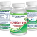 Somnus PM | Sleep Supplement – Natural – Non-Habit Forming – Herbal – Sleep Aid
